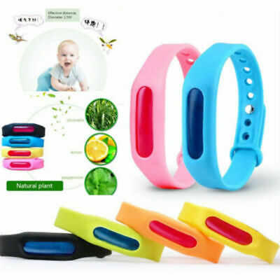2PCS Anti Mosquito Pest Insect Bug Repellent Wrist Band Bracelet Outdoor Camping