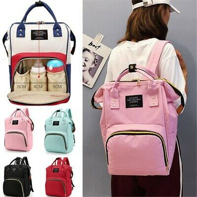Multi-use Large Mummy Baby Diaper Nappy Backpack Mom Changing Travel Bag
