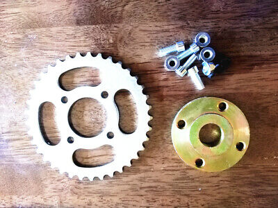 Project 25mm weldable Axle sprocket carrier and 420 pitch sprocket
