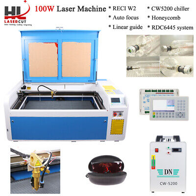 """100W Co2 Laser Engraving Cutting Machine Engraver 23"""" x 39"""" & Linear Guides"""