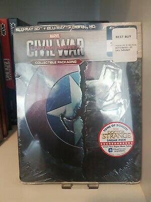 Captain America Civil War Best Buy Exclusive Steelbook