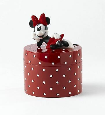 Disney Minnie Mouse 'I Will Keep Your Secrets' Lidded Box Girly Gift, A24260