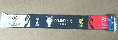 Liverpool Tottenham Champions League Final 2019 Madrid Official Scarf Brand New