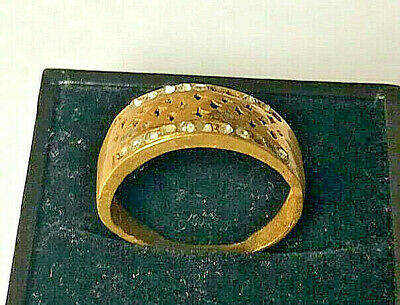 EXTREMELY Ancient BRONZE RING vintage museum quality ARTIFACT Amazing