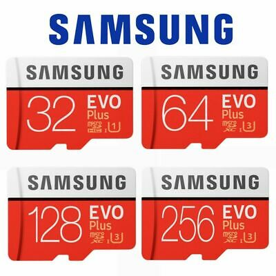 Micro SD Card SamSung Evo Plus 32GB 64GB 128GB 256GB Class 10 High Speed
