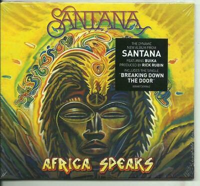 Santana Africa Speaks Cd Digipak Nuovo