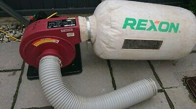 REXON DR 1000A 750w DUST EXTRACTOR - WORKSHOP - SHED - MACHINES L23