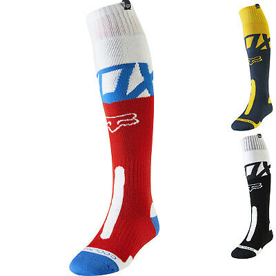 Fox Racing Coolmax Thick Kila Motocross Socks Mens MX Dirt Bike Wicking Ribbed