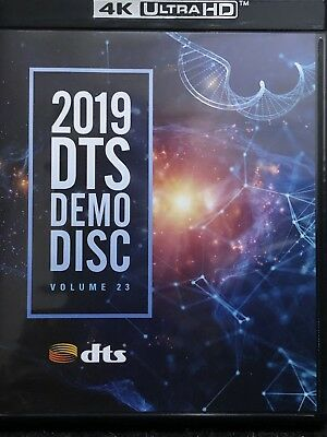 CES DTS 2019 DEMO 4K UHD BLURAY CES2019 DTS:X NEW Volume 23 Ultra HD IMAX UHDBD