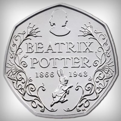 Beatrix Potter 150th Anniversary  50p COIN HUNT Fifty Pence