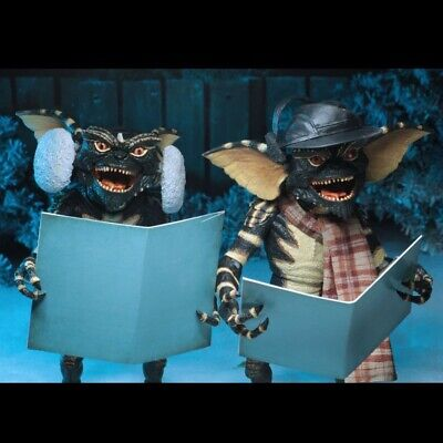 NECA Gremlins 2 Pack Christmas Carol Winter Scene 7 Inch Action Figure Presell