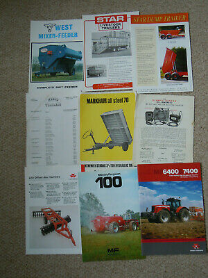 @Vintage Quantity of Agricultural Machinery Literature@