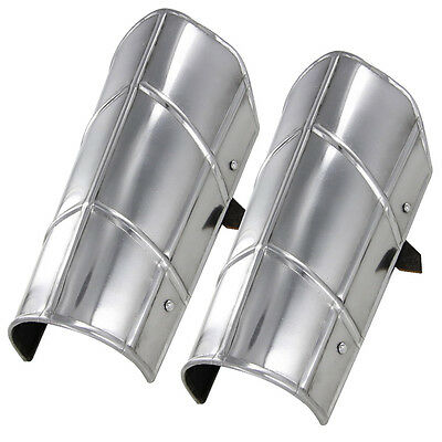 Hand Forged Siege Warfare 18g Vambrace Medieval Knights Armor Arm Bracer Set