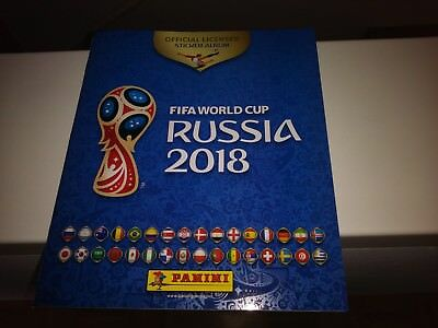FIFA WORLD CUP RUSSIA Panini WM 2018 Stickeralbum  NEU