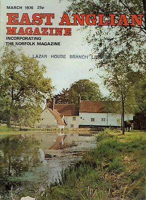 1976 MARCH 52882 East Anglian Magazine Cover Picture  STEBBING WATERMILL ESSEX