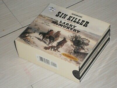 Larry Mcmurtry, Sin Killer, WILD WEST audio book, Nice Condition x 7 CDs Set