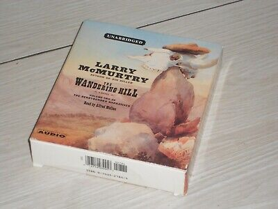 Larry Mcmurtry, The Wandering Hill, WILD WEST audio book x 9 CD Set, (V G Cond)
