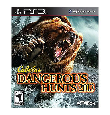 PlayStation 3 : Cabelas Dangerous Hunts 2013 VideoGames