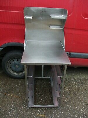 No326  Stainless Steel Stand  650Mm X 820Mm X 910Mm High At Front