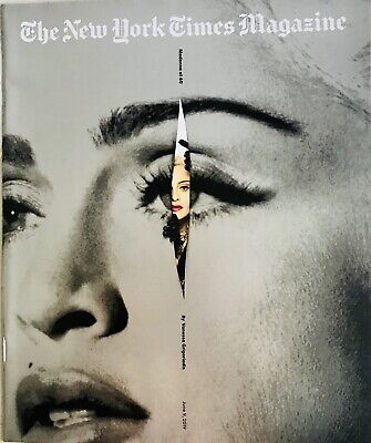 June 9, 2019 Ny Times Magazine Madonna At 60   *Mint & Unread*