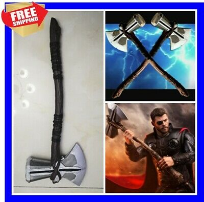 73cm Cosplay Weapons 1:1 Thor Axe Hammer 73cm Cosplay Weapons Movie Role Playing