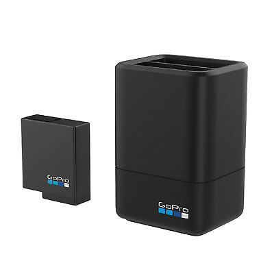 NEW GoPro aadbd-001 Dual Battery Charger + Battery HERO 7, 6, 5, SEALED