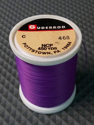 "OBSOLETE NEW GUDEBROD  ROD WINDING THREAD  COLOR PEACH #51 /""A/"" 950yds"