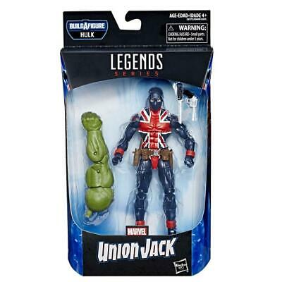 "Marvel Legends Union Jack Avengers Endgame 6"" Action Figure Hulk BAF IN STOCK"