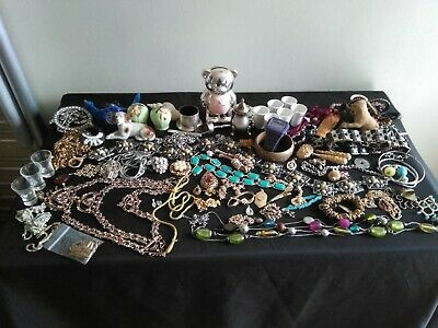 Job Lot Of Mixed Era Vintage Collectables And Jewellery