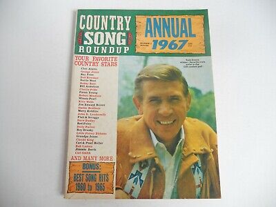 COUNTRY SONG ROUNDUP - ANNUAL 1967, BUCK OWENS Cover, DOLLY PARTON, MINNIE PEARL