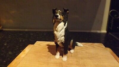 North Light Dog 1985 Tri Colour Border Collie Sitting Unboxed Prefect For Age