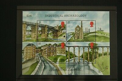 GB 1989 Industrial archaeology miniature sheet SG MS1444  unused MNH
