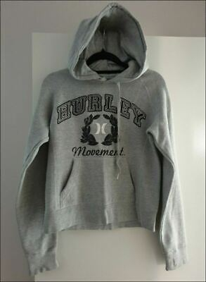 Girls gorgeous HURLEY hoodie jumper size 12-14