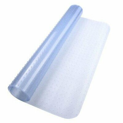 120x90cm Rectangle PVC Floor Mat Spiked Back 2.5mm for Pile Carpet Rolling Chair