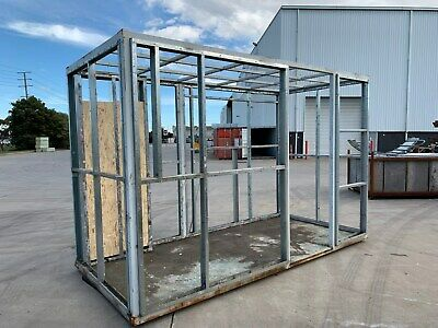 PORTABLE FRAME - SINGLE DOOR AND WINDOW 3950mm long x 1900mm wide x 2550mm high