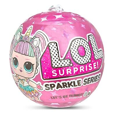 LOL Surprise! SPARKLE SERIES Ball Big Sister Dolls MGA Free Shipping NEW
