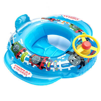 Baby Kid Toddler Thomas Friends Swimming Pool Boat Ring Raft Float Tube Seat Aid
