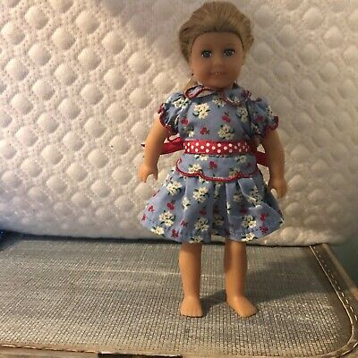 American Girl Mini Doll Emily, Original Outfit, no damage, no chipped paint