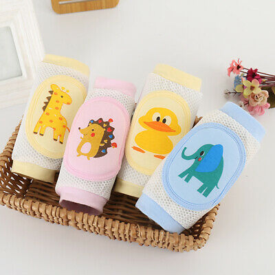 Baby Kids Socks Safety Knee Pads Lovely Toddler Short Crawling Protector Kneepad
