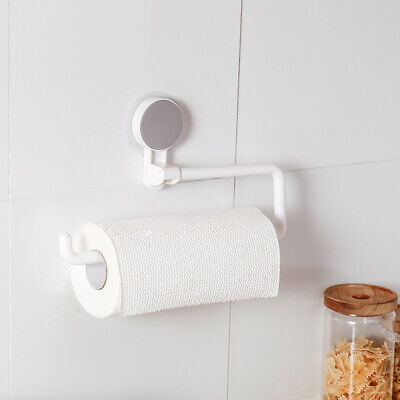Paper Towel Holder Under Cabinet Wall Mount Stainless Steel Rack Kitchen sq