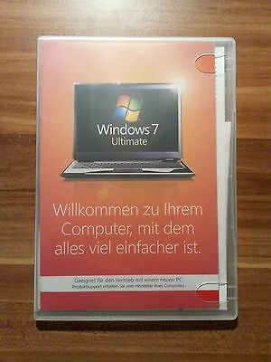 Microsoft Windows 7 ULTIMATE 64bit SP1 SB Vollversion deutsch GLC-01848