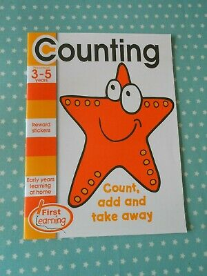 First Learning COUNTING Workbook Ages 3-5