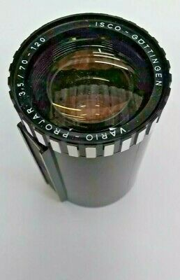 Vario-Projar Isco-Gottingen 3.5/70-120 Projection Lens  With Protective Cap BNIP