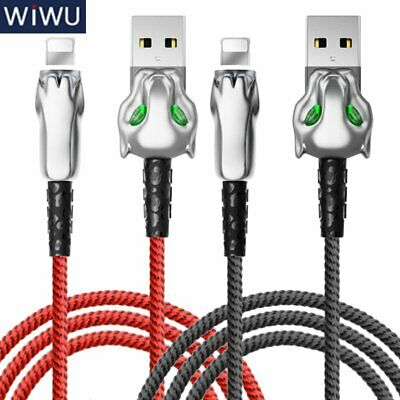 WiWU Leopard USB Lightning Charging Data Cable For iPhone X XR Xs Max 8 7 Plus