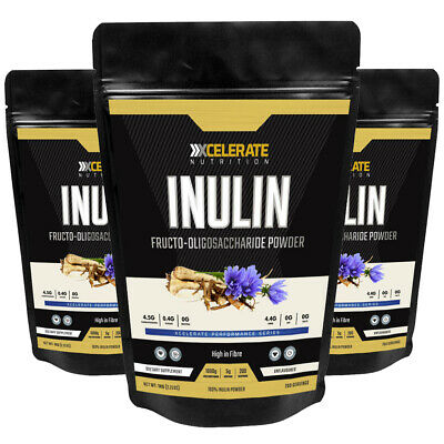 XCelerate Nutrition Pure 100% Inulin Powder Unflavoured 250g / 500g /1Kg