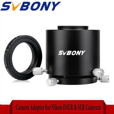 SVBONY SV123 Camera Adapter+T2 Mount Adapter Ring for Nikon DSLR & SLR Cameras