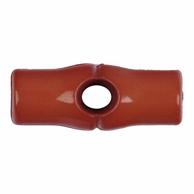 Trimits   Nylon Bamboo 1-Hole Toggle   25mm   Brown   G152625-29