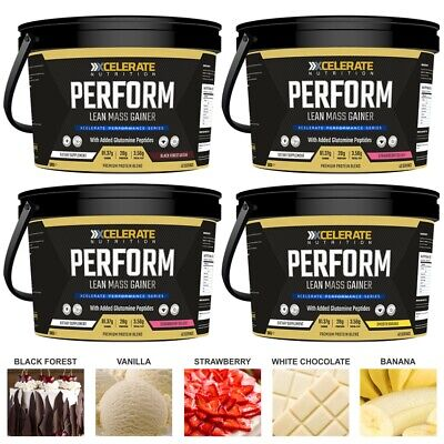 5Kg Perform Serious Mass - Weight Gainer Anabolic Whey Lean Gain - All Flavours