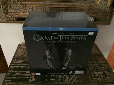 Game Of Thrones: Season 7 -Drogon Figurine Blu Ray (Limited Edition) Sealed Rare