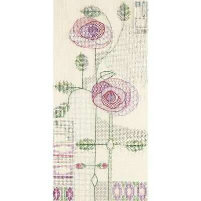 Bothy Threads  XGF6  Rose  Kit  Broderie  Point de Croix  Compté
